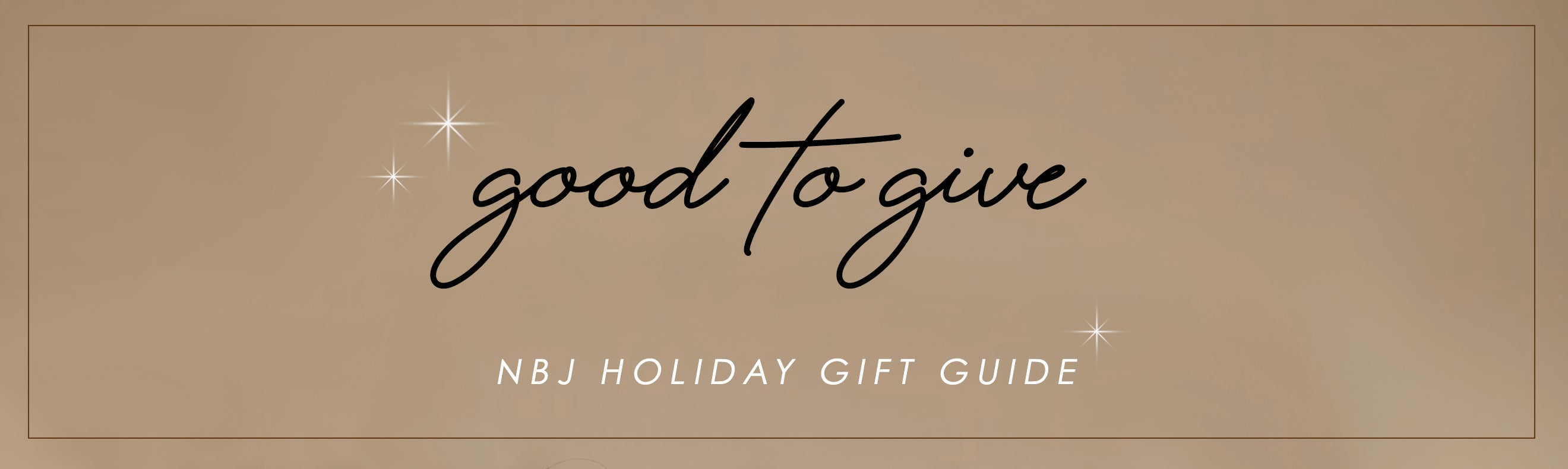 Good to Give - 2020 Gift Guide