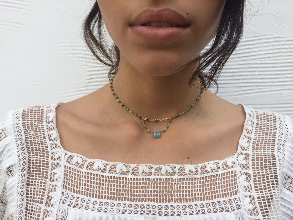 Buried Treasure Choker, Anika