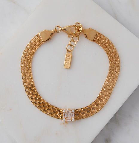 Union Square Bracelet, Rose Gold