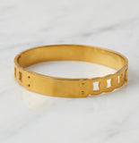 Greer ID Chain Bangle