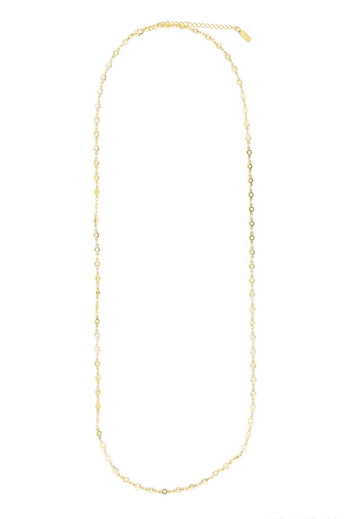 Cassie Duo Belly Chain / Necklace, Gold