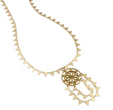 Del Sol Necklace, Circle