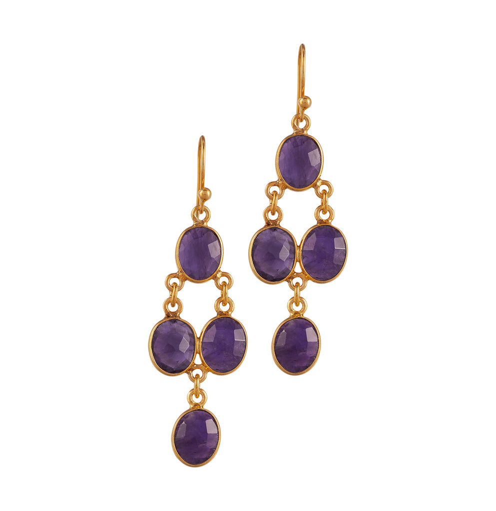 Drops of Jupiter Chandelier Earrings
