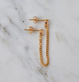 Tova Double Earring, Topaz