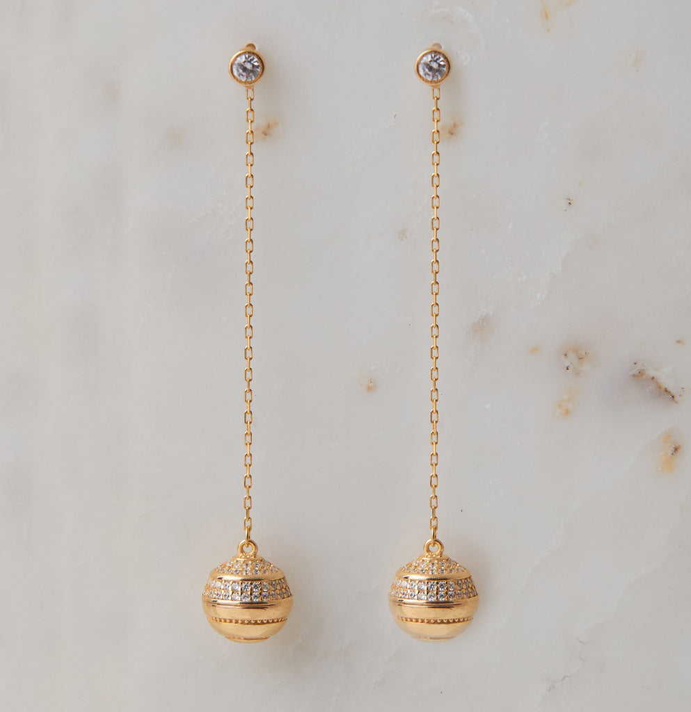 Gatsby Drop Earring