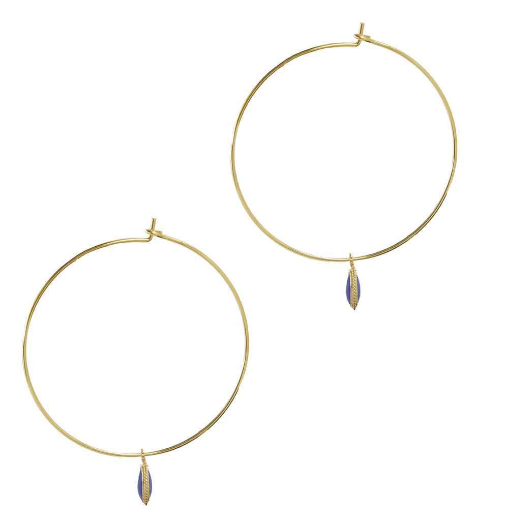 Chrissie Hoops, Gold & Lapis