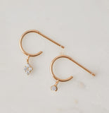 Astrid Mismatched Tiny Hoops, Gold