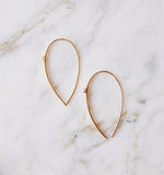 Meteor Stem Earring, Gold