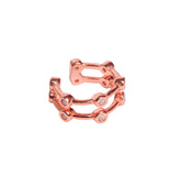 Europa Ear Cuff, Rose Gold