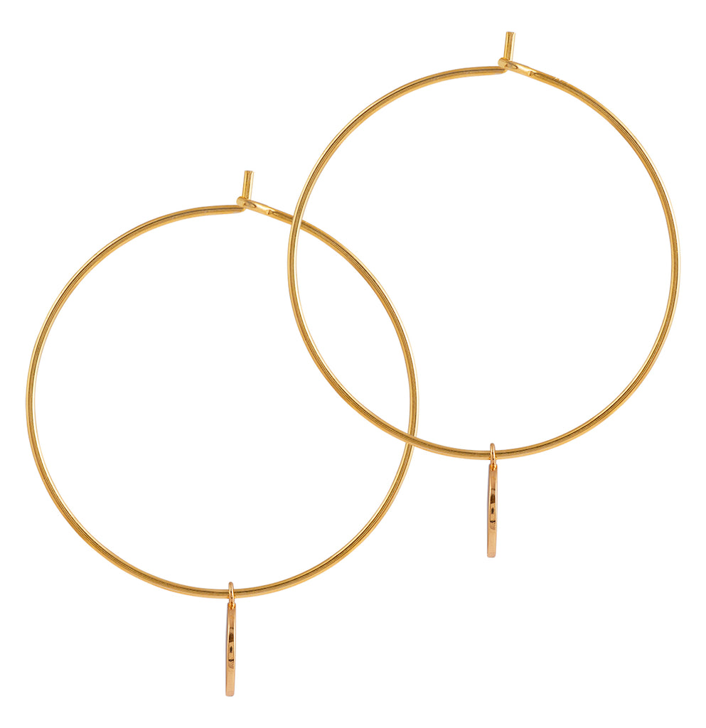 Jupiter Hoops, Gold