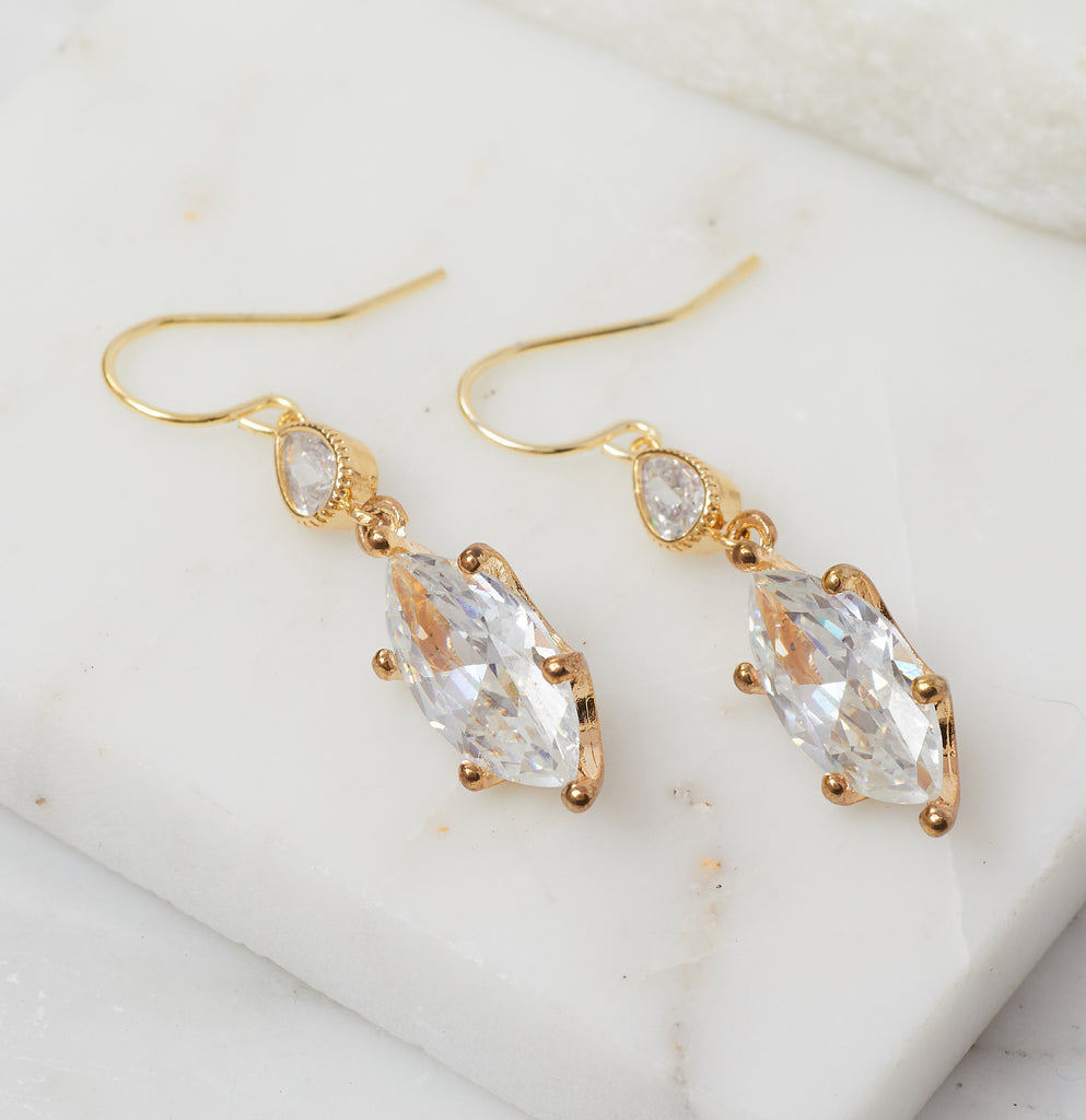 Aubre Marquis Drop Earring
