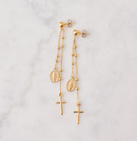 Miraculous Earrings, Gold