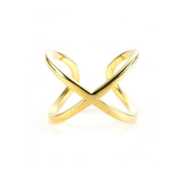 Hug Me Ring, Gold