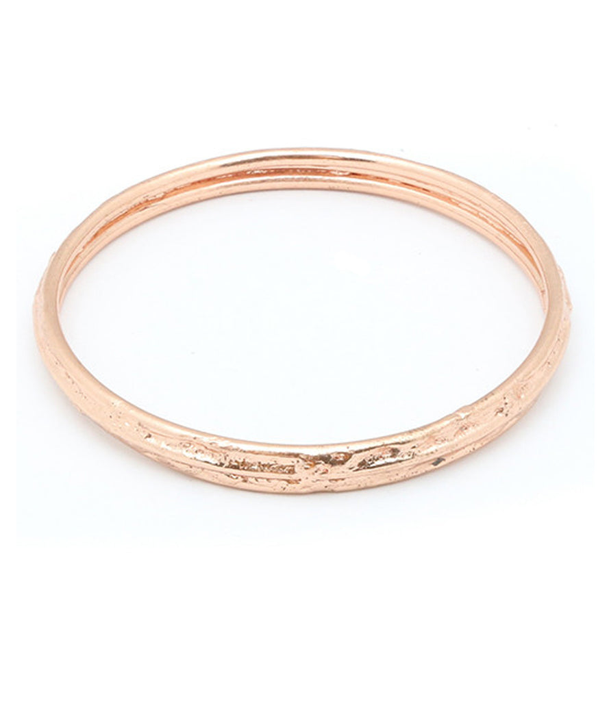 Wanderer Bangle, Rose Gold