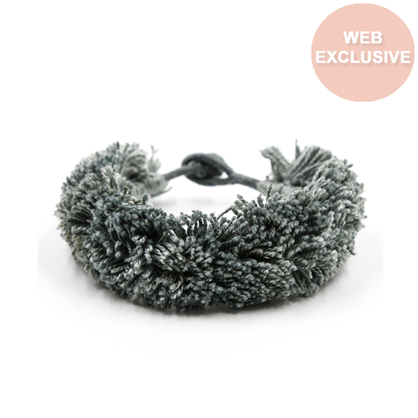 Hampton Bracelet, Light Gray