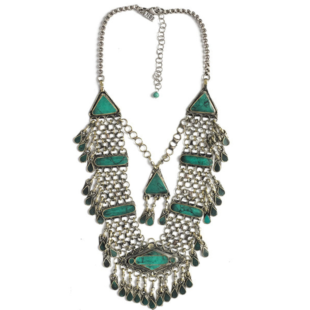 leafy products sumaris necklaces green necklace