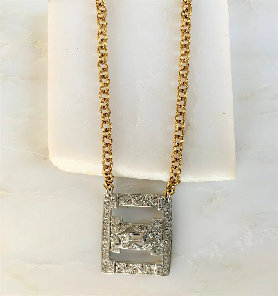 Bryna Vintage Necklace, Short