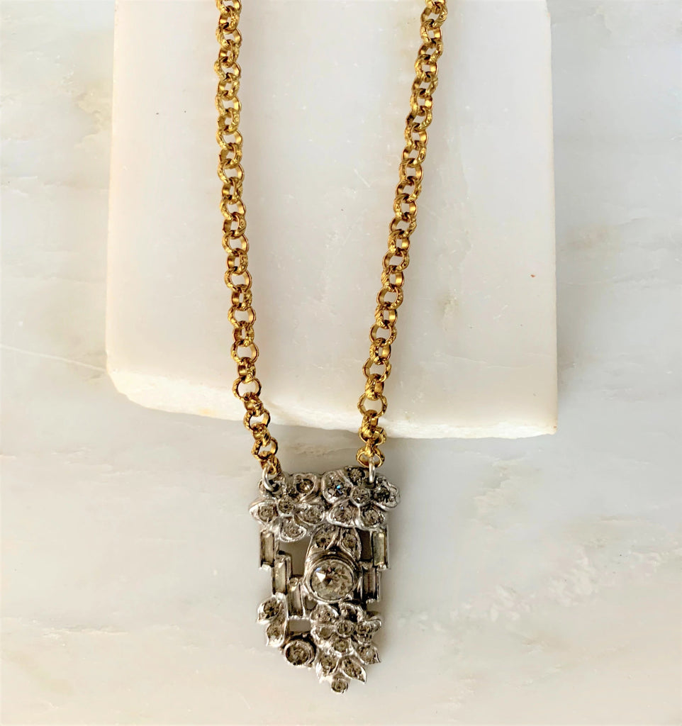 Victoria Vintage Necklace, Short