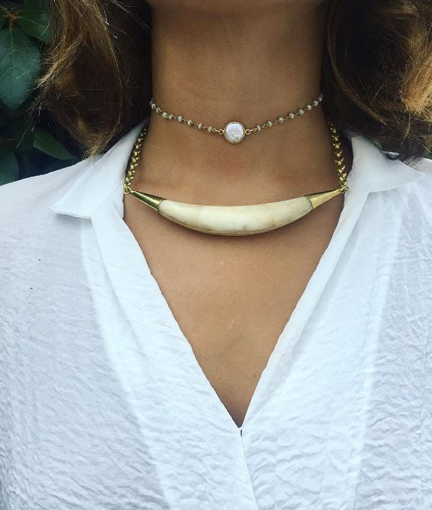 Longbow Choker Necklace