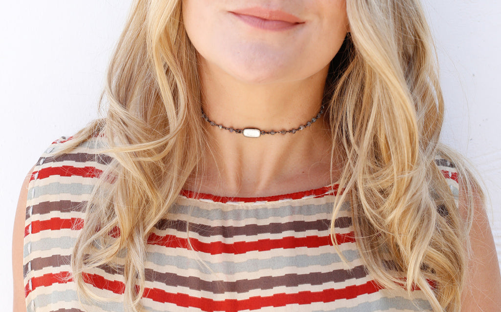 Buried Treasure Choker, Alana