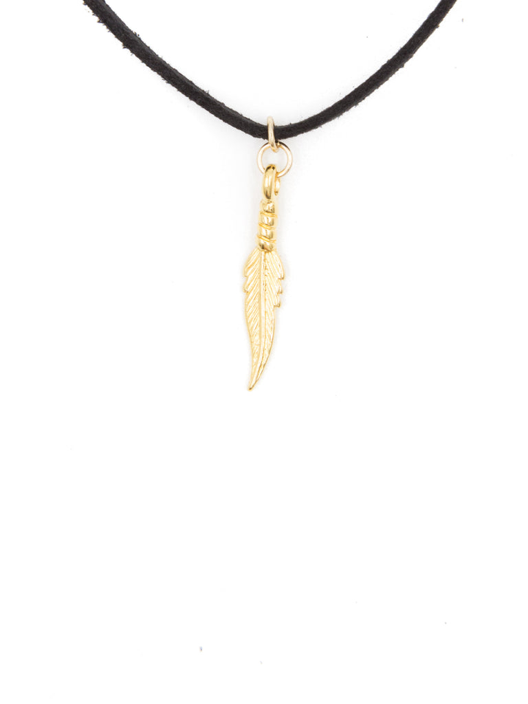 Feather Charm Roadie Wrap