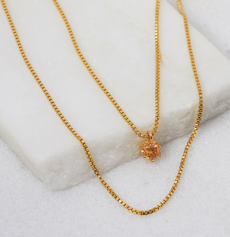 Sun Rose Naja Necklace
