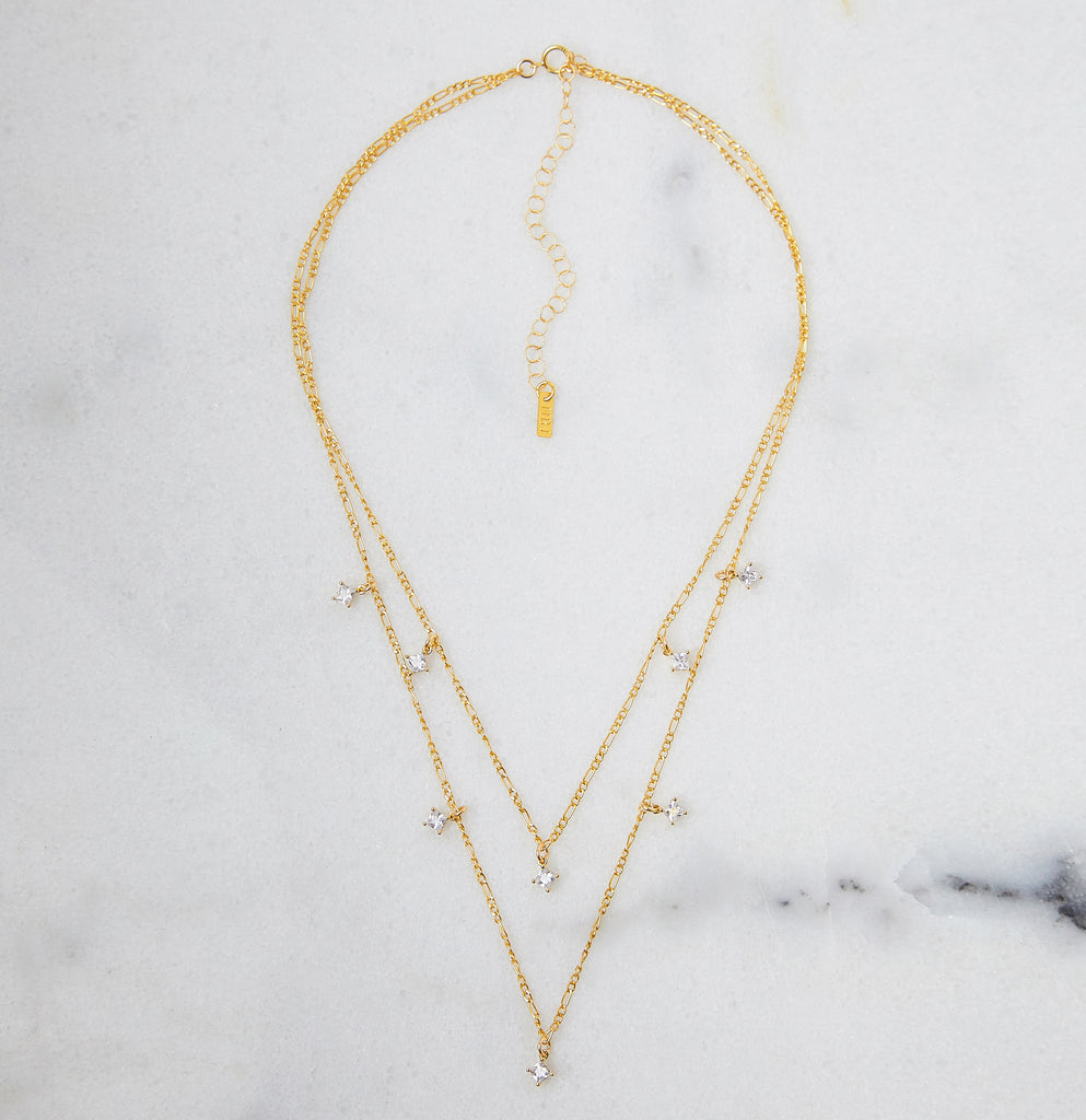 Esme Double Strand Necklace