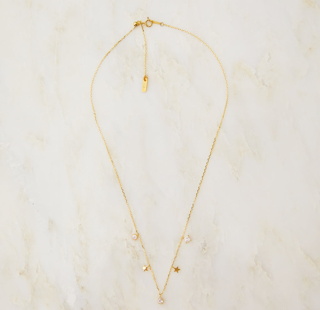 Celestial Slider Necklace