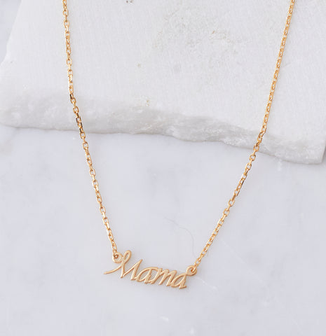 F*ck It Necklace in Gold