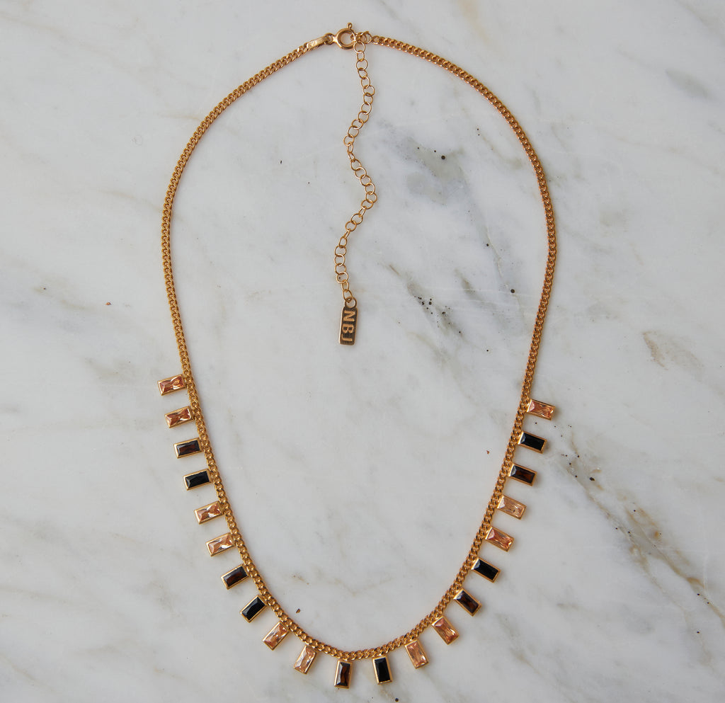 Amber Ombre Necklace