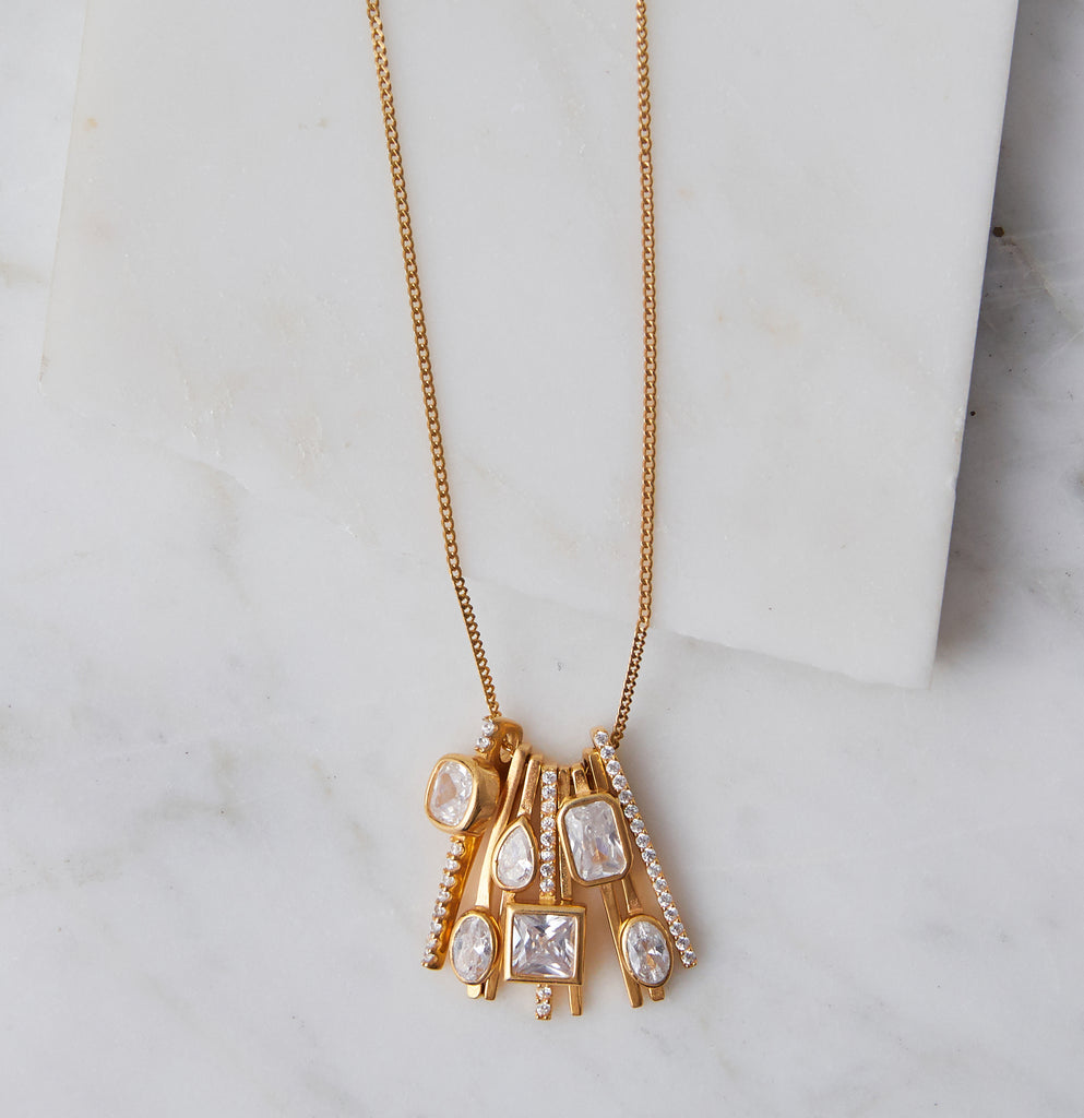Celine Art Deco Necklace