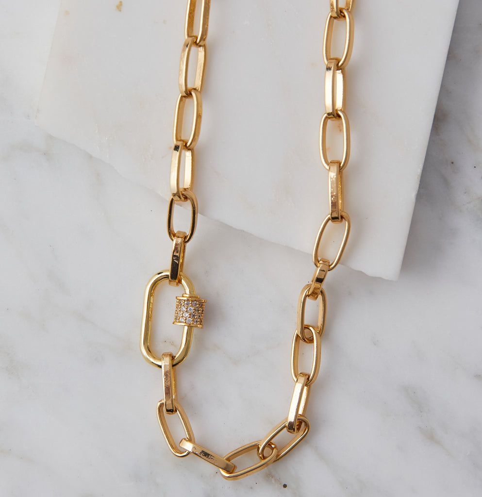 Naia Link Necklace
