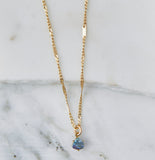 Luciana Blue Topaz Necklace