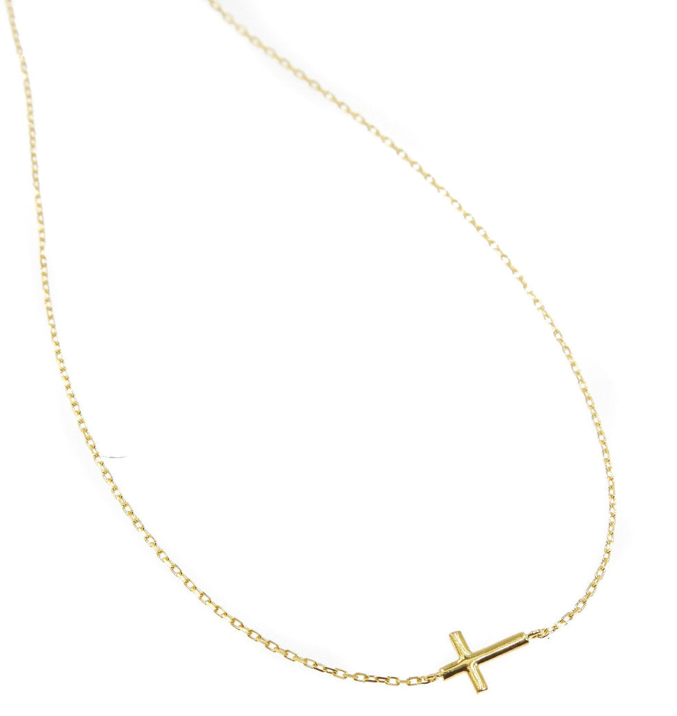 Mini Donatella Necklace Gold