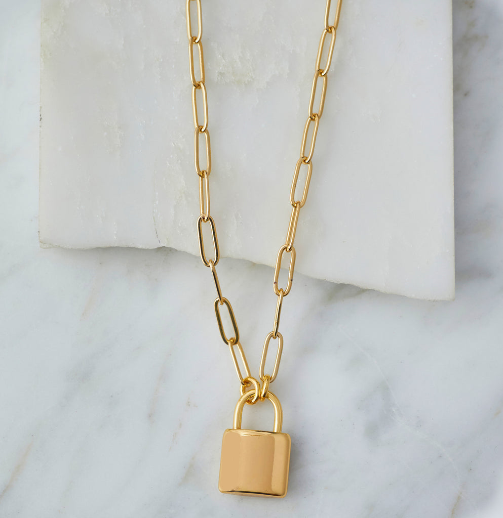 Leni Lock Necklace