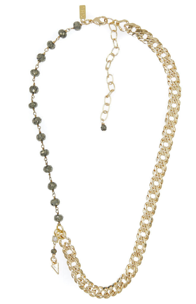 Verona Pyrite Necklace