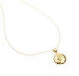 Gold Round Locket