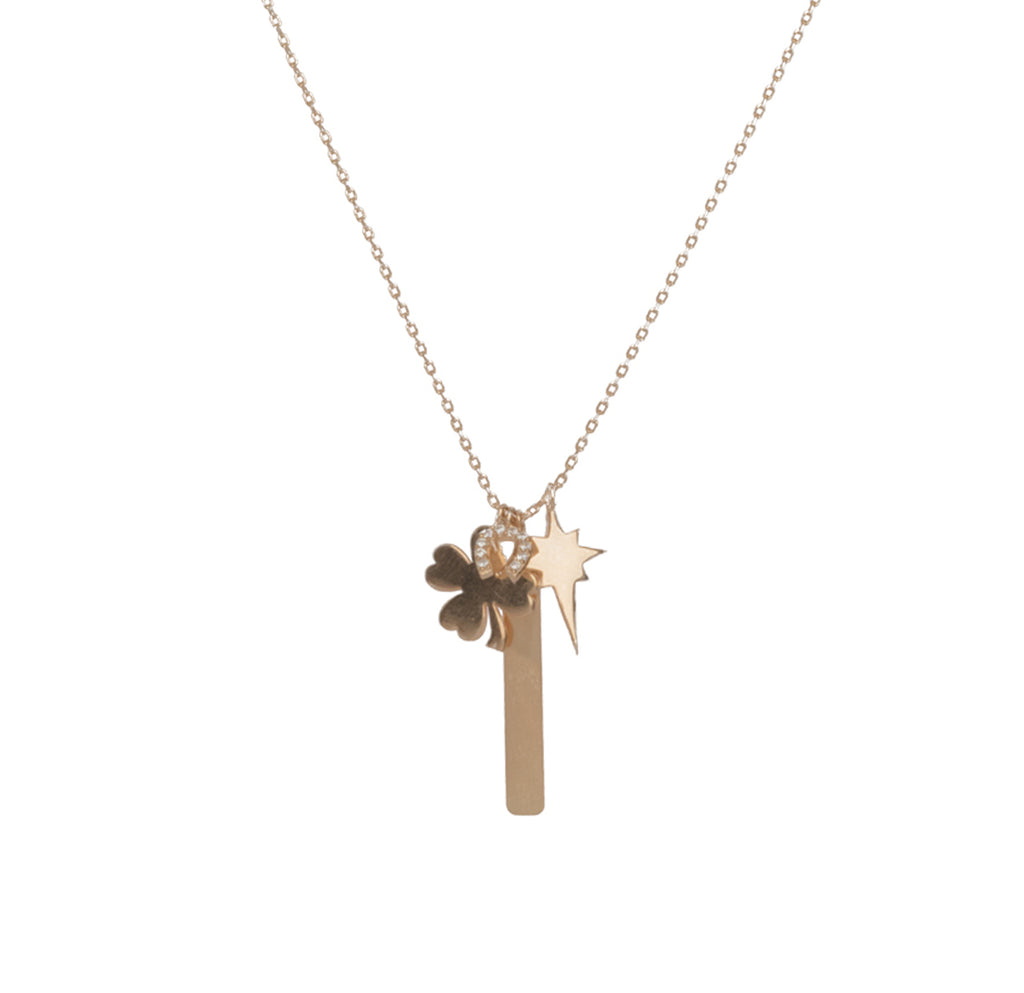 Wish Upon A Star Charm Necklace