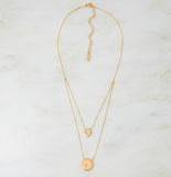 Galatea Double Strand Necklace