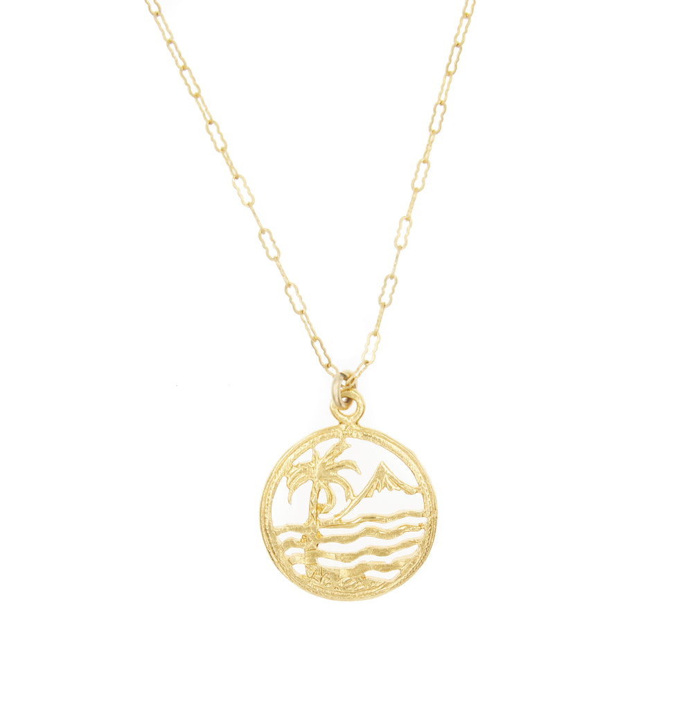 Sea Scape Charm Necklace
