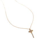 Benedetto Necklace Rose Gold