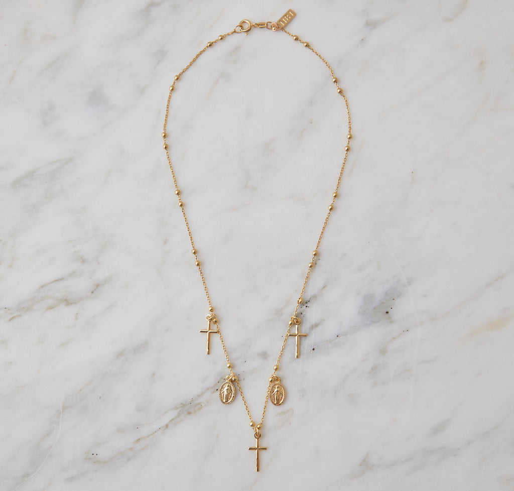 Miraculous Necklace, Gold