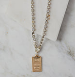 Ellie Vintage Rhinestone Necklace