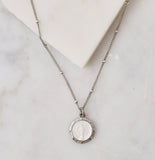 Ms. Mary Vintage Necklace, White