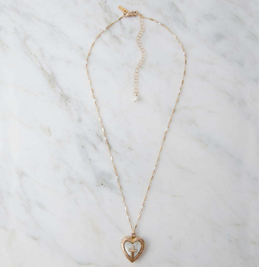 Holy Love Sweetheart Locket