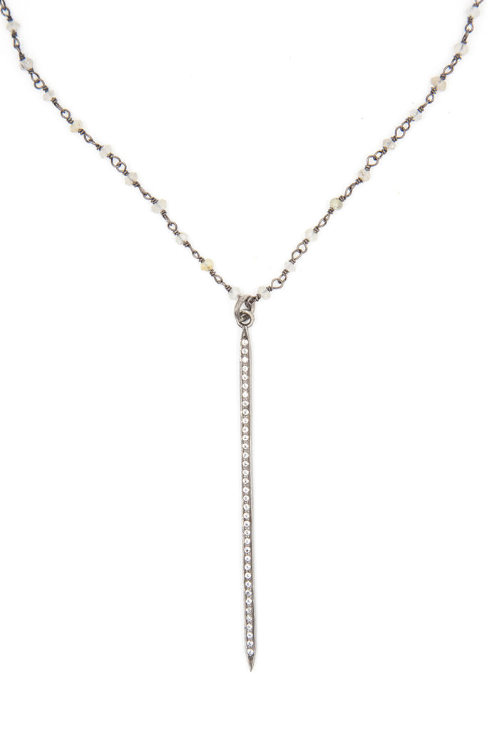 Carina Point Bar Necklace