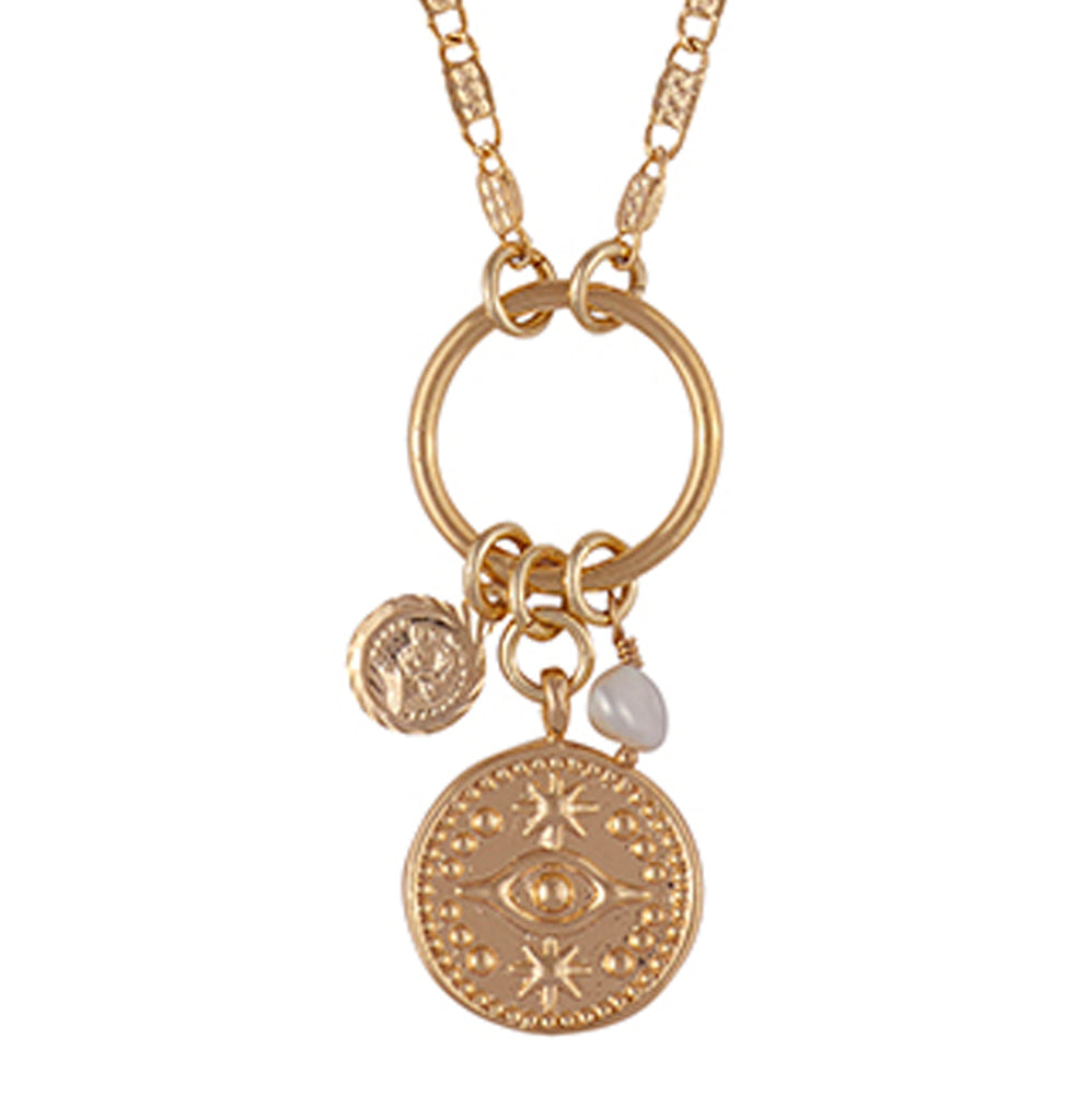 Good Fortune Reversible Charm Necklace