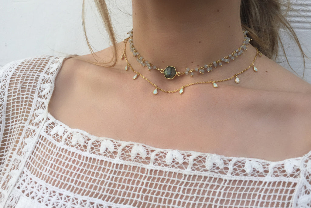 Buried Treasure Choker, Vivienne
