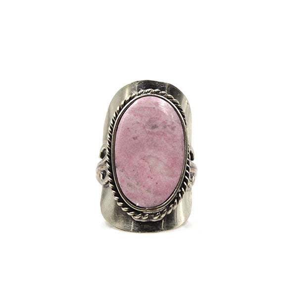 Copa Ring, Pink Rhodonite