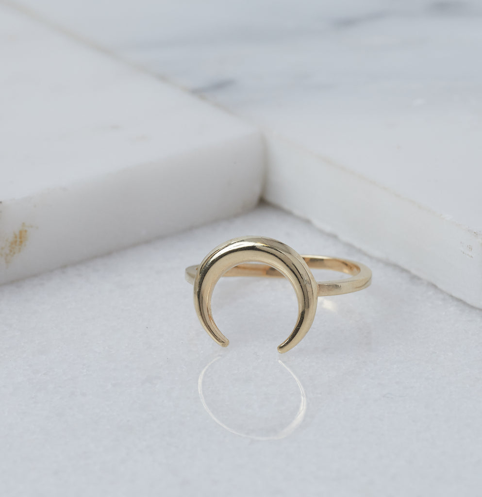Luna Ring, Gold